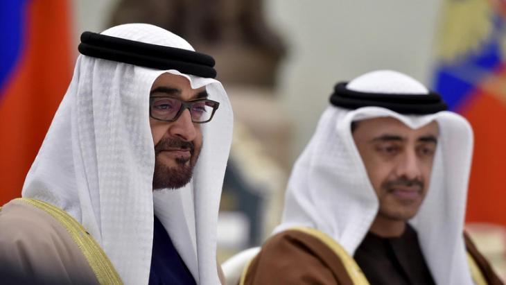 Crown Prince Mohammed bin Zayed Al-Nahyan (photo: Reuters)