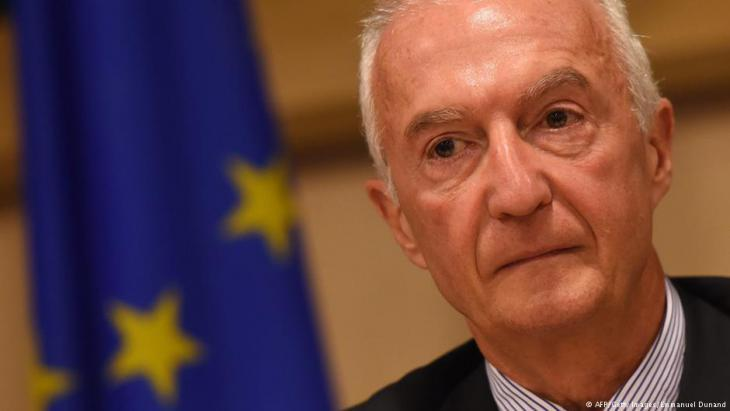 Gilles de Kerchove, the EUʹs counterterrorism coordinator (photo: AFP/Getty Images/Emmanuel Dunand)