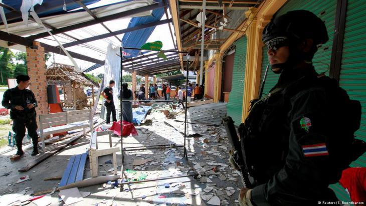 Attack in Songgkhla, southern Thailand, in 2016 (photo: Reuters/S. Boonthanom)