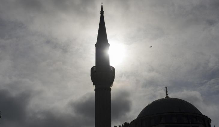 Mosque minaret and dome in Berlin (photo: Archivbild/Paul Zinken/dpa)