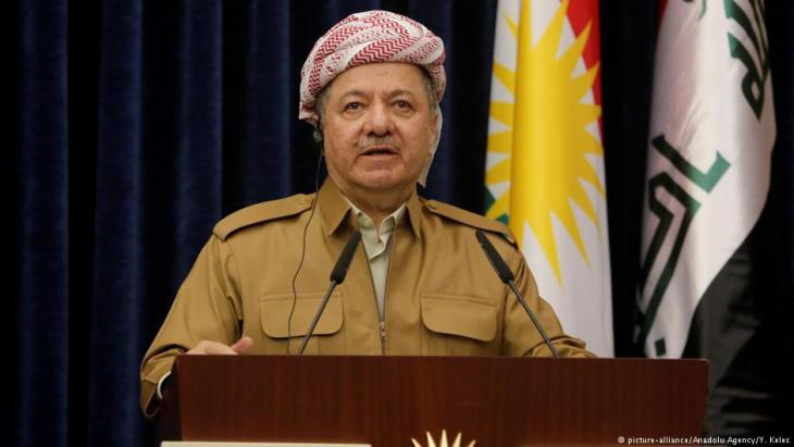 Former president of the Iraqi Kurdistan Region, Massoud Barzani (photo: picture-alliance/Anadolu Agency)