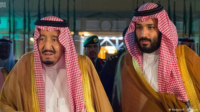Saudi Arabiaʹs King Salman and Crown Prince Mohammed bin Salman (photo: Reuters)