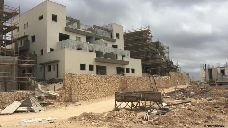 Jewish settlement in Lechem (photo: ARD/T. Teichmann)