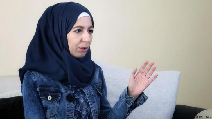 Syrian torture victim Muna Muhammad (photo: DW)