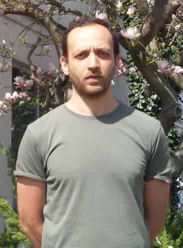 Syrian human rights activist and founder of the project, Hadi Al Kathib (photo: David Siebert)