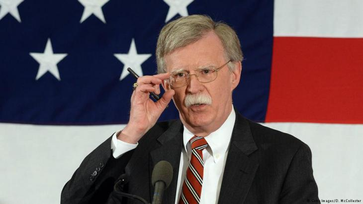 Trumpʹs National Security Adviser John Bolton (photo: Getty Images)