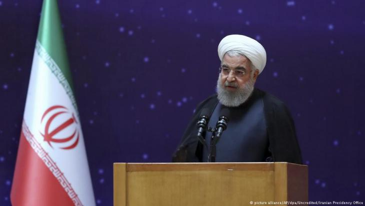 Iranian President Hassan Rouhani (photo: picture-alliance/dpa/AP)