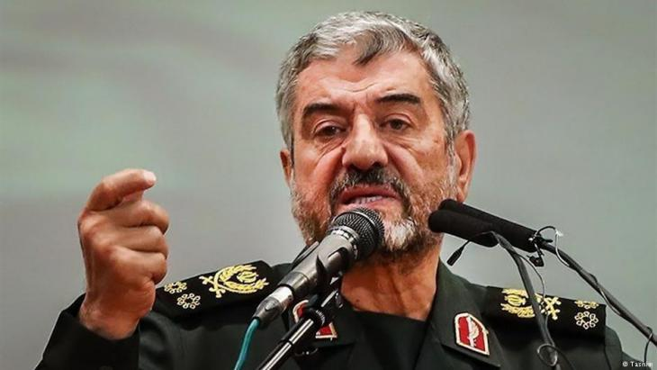 Mohammad Ali Jafari, commander of the Revolutionary Guard Corps (photo: Tasnim)