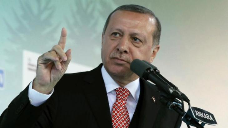 Turkish President Recep Tayyip Erdogan (photo: AP/dpa)