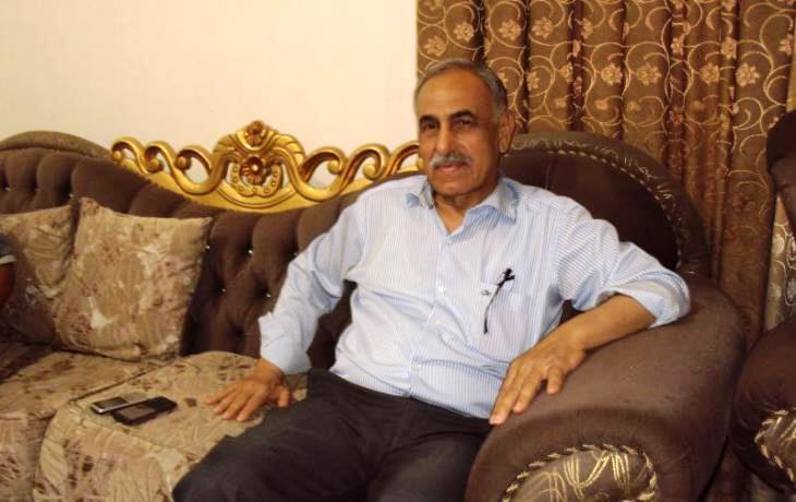 Sunni politician Hamid al-Mutlak (photo: Birgit Svensson)