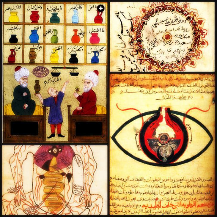Old Islamic medical illustration (photo: Bund für islamische Bildung)