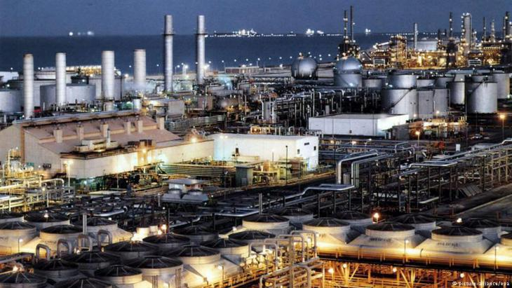 Oil refinery in Dhahran (photo: dpa/picture-alliance)