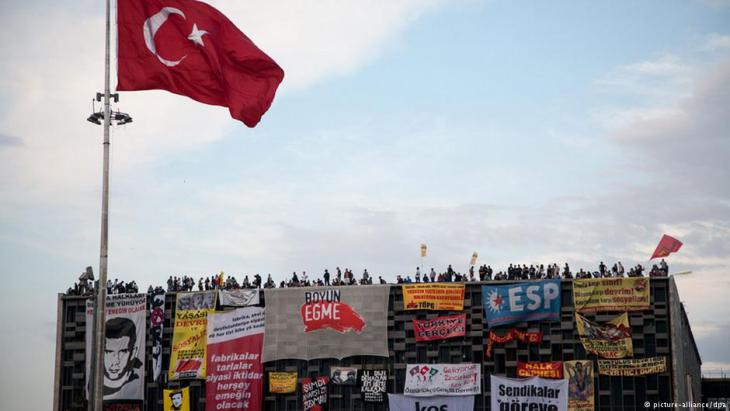 The AKM during the Gezi Park protests in 2013 (photo: picture-alliance/dpa)