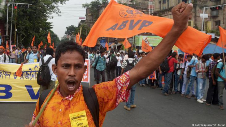 Hindu nationalists protest against Muslims in Calcutta (photo: AFP/Getty Images)