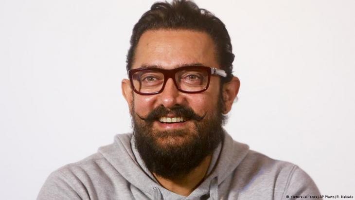 Bollywood superstar Aamir Khan (photo: picture-alliance/AP)