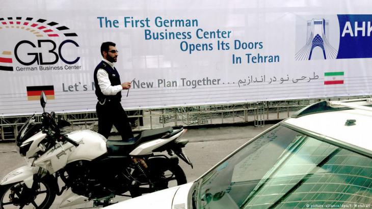 Iranʹs first German Business Center (photo: picture-alliance/dpa)