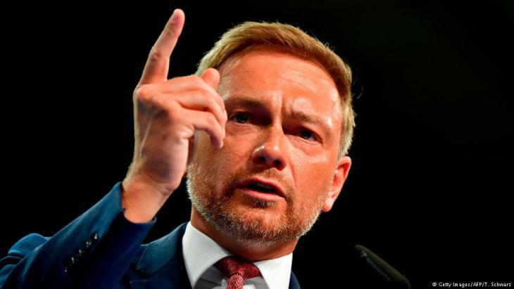 Leader of the FDP Christian Lindner (photo: Getty Images/AFP)
