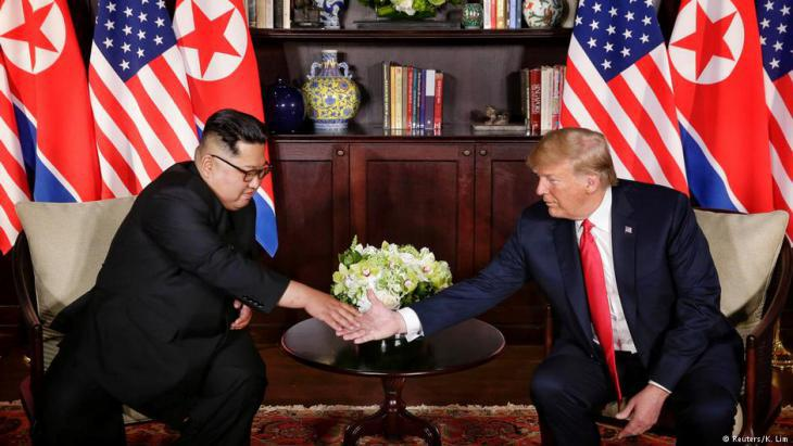 Singapore: USA-North Korean summit with Donald Trump and Kim Jong Un (photo: Reuters)