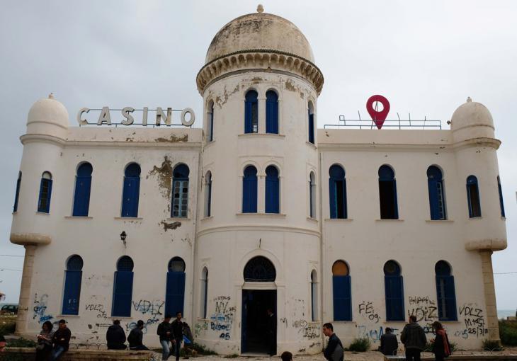 Former casino in Hammam-Lif (photo: Sarah Mersch)