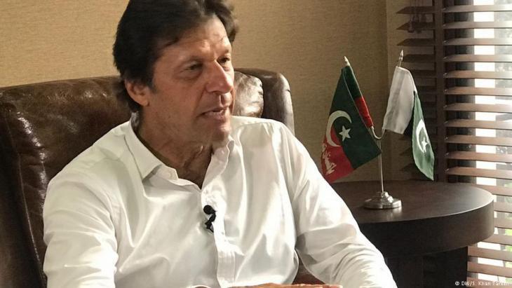 Imran Khan (photo: DW)