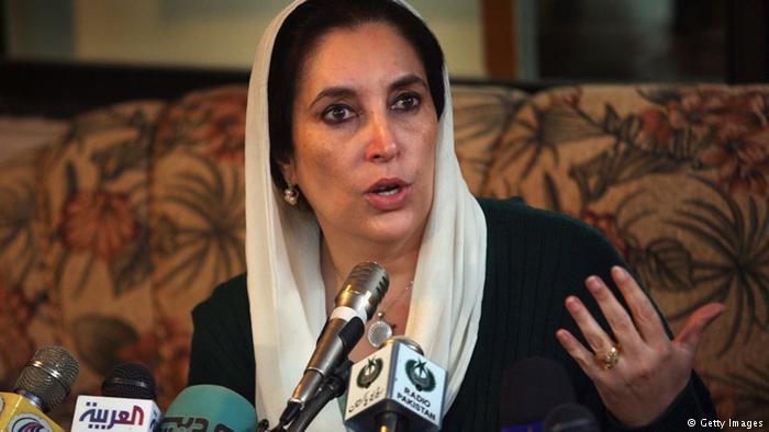 Benazir Bhutto (photo: Getty Images)