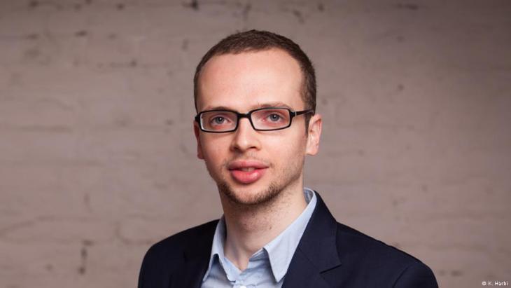 Berlin-based journalist Armin Langer (photo: K. Harbi)