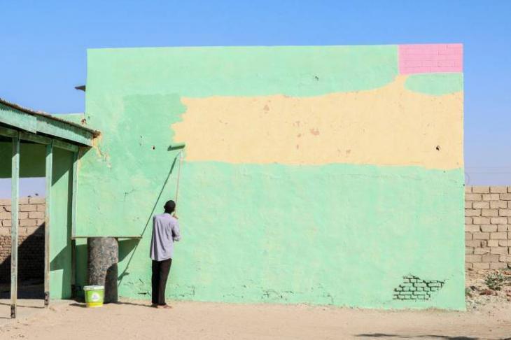 Voluntary work in Khartoum, Sudan (photo: C. Faris Elshegil)