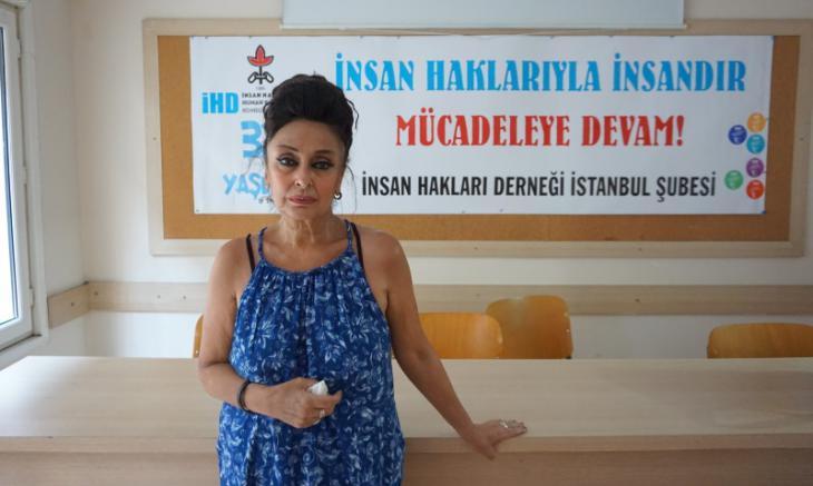 Eren Keskin, lawyer and vice-president of the Turkish Human Rights Association IHD (photo: Murat Bayram)