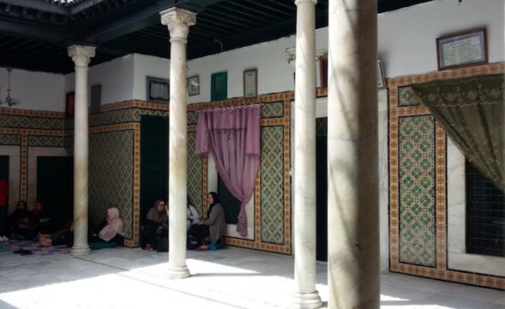 The shrine of Lella Saida Aisha Manoubia in Tunis (photo: Safa Belghith)