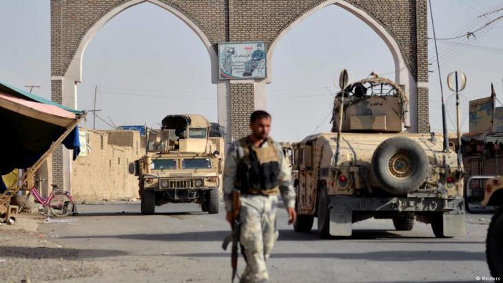 Government troops re-take the East Afghan town of Ghazni on 12 August 2018 (photo: Reuters)