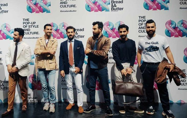 "Part of the programme: the fashion and music event ""Bread && Butter"" (source: Instagram; Mr Erbil Gentleman's Club)"