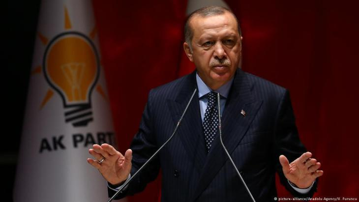 Turkish President Recept Tayyip Erdogan (photo: picture-alliance)