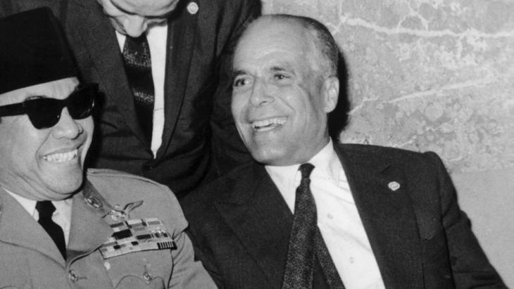 Former Tunisian president Habib Bourguiba (photo: dpa)