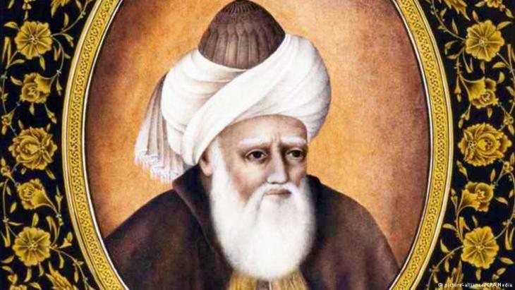 Thirteenth century Sufi philosopher Jalal ad-Din Muhammad Rumi (photo: dpa/CPA Media)
