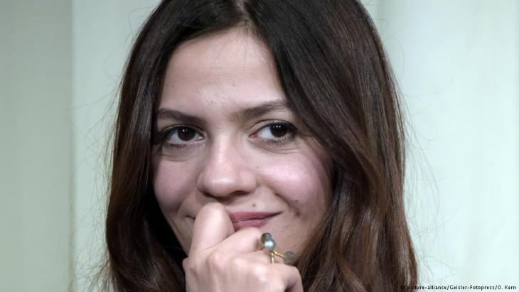 Syrian author Dima Wannous (photo: picture-alliance)