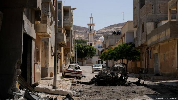 Libyan coastal town Derna taken by General Haftar (photo: Reuters)