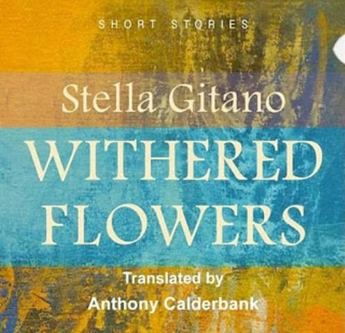 "Cover of Stella Gitano's ""Withered Flowers"" (published by Rafiki for Printing and Publishing, Juba)"