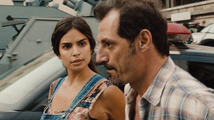 """Shirine (Rita Hayek) in Ziad Doueiriʹs """"The Insult"""" (source: Alpenrepublik Filmverleih)"""