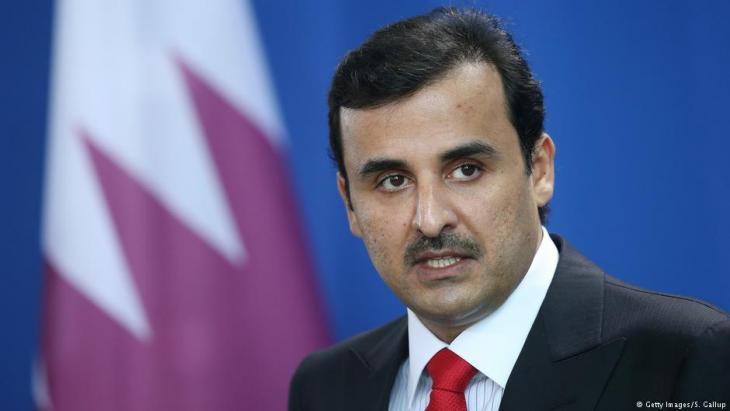 Qatari Emir Tamim bin Hamad Al Thani (photo: Getty Images)