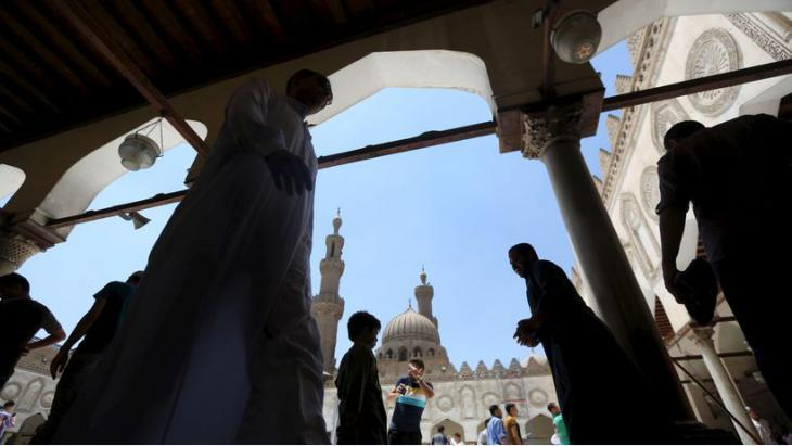 Al-Azhar mosque in Cairo (photo: Reuters/Mohamed Abd el Ghany)