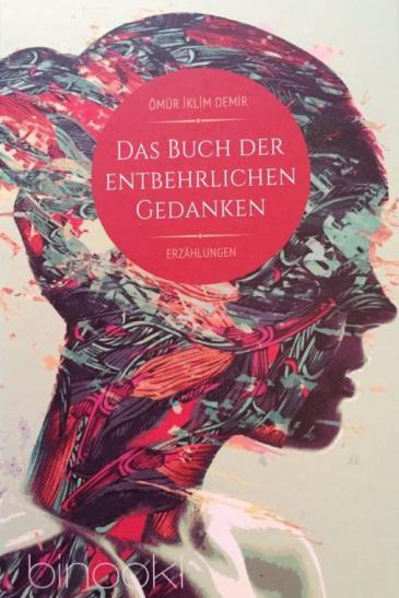 "Cover of Demirʹs ""Buch der entbehrlichen Gedanken"" –  The book of superfluous thoughts (published in German by Binooki)"