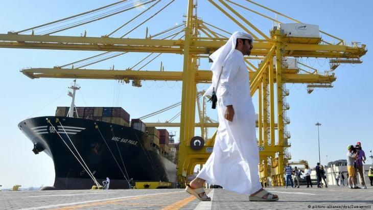 Qatarʹs new Hamad Port (photo: picture-alliance/dpa)