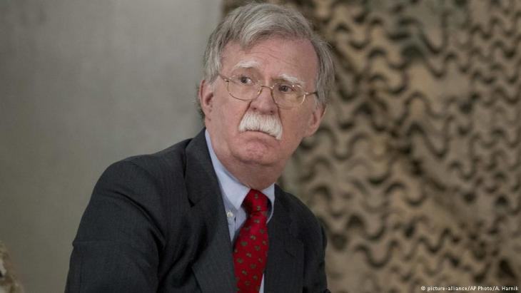 U.S. security advisor John Bolton (photo: picture-alliance/AP)