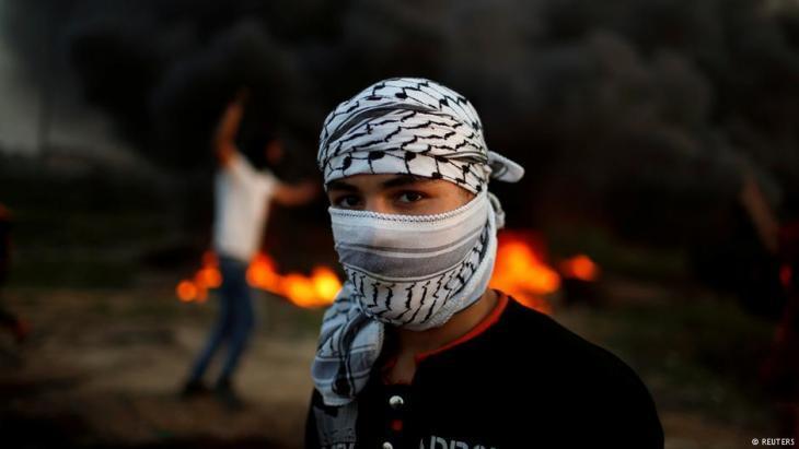 Symbolic image of Intifada (photo: Reuters)