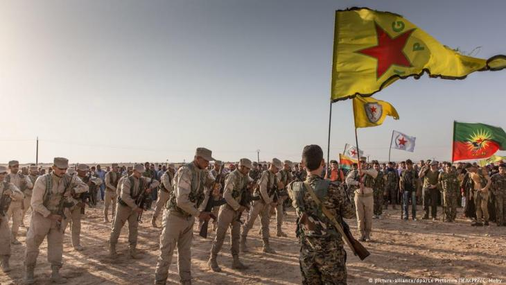YPG units in Rojava (photo: picture-alliance/dpa)