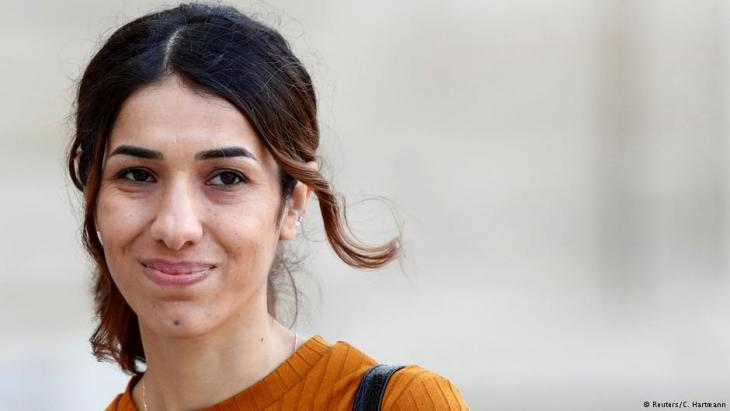 Nadia Murad (photo: Reuters/C. Hartmann)