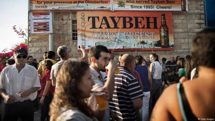"Taybeh ""Oktoberfest"" (photo: Getty Images)"