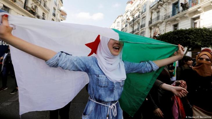 Anti-Bouteflika protests on 10 March 2019 in Algiers (photo: Reuters)