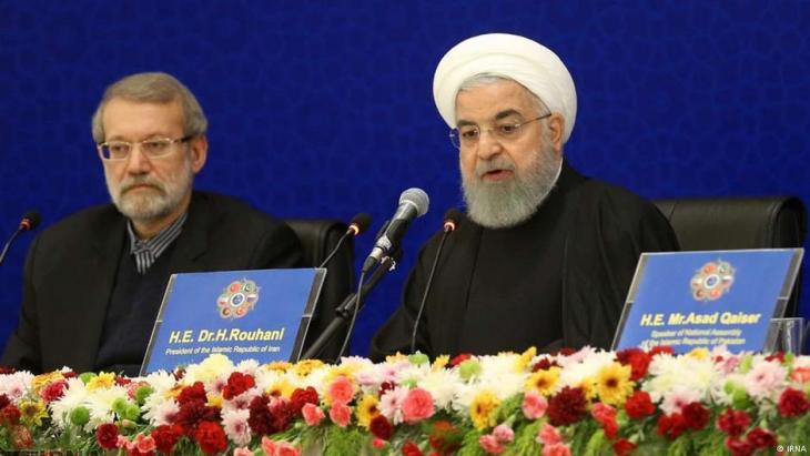 Iranian President Hassan Rouhani (source: IRNA)