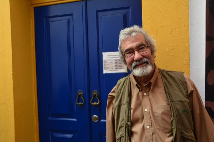 Portuguese archaeologist and founder of the Archaeological Field of Mertola, Claudio Torres (photo: Marta Vidal)